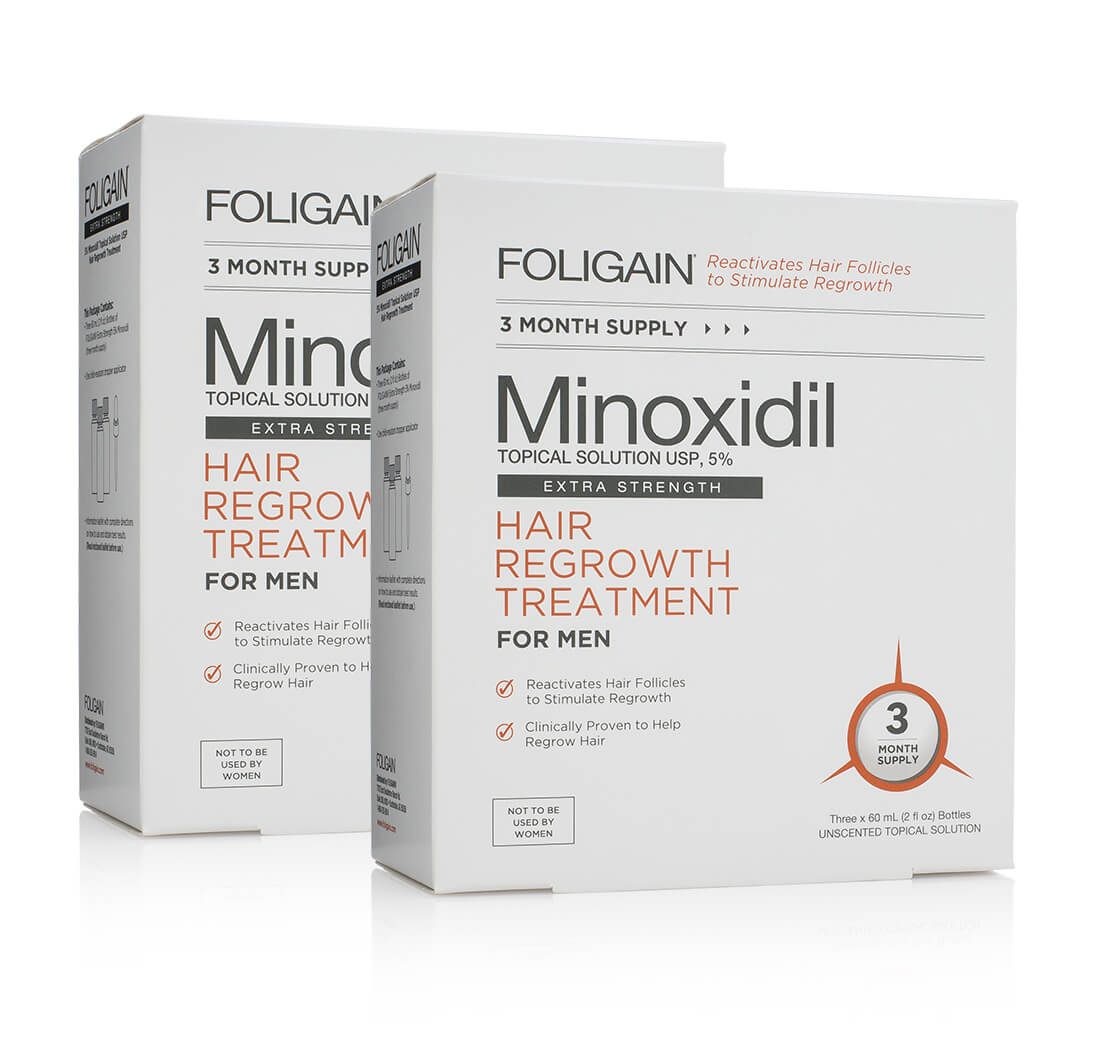 Foligain 5% Kit 6 Meses