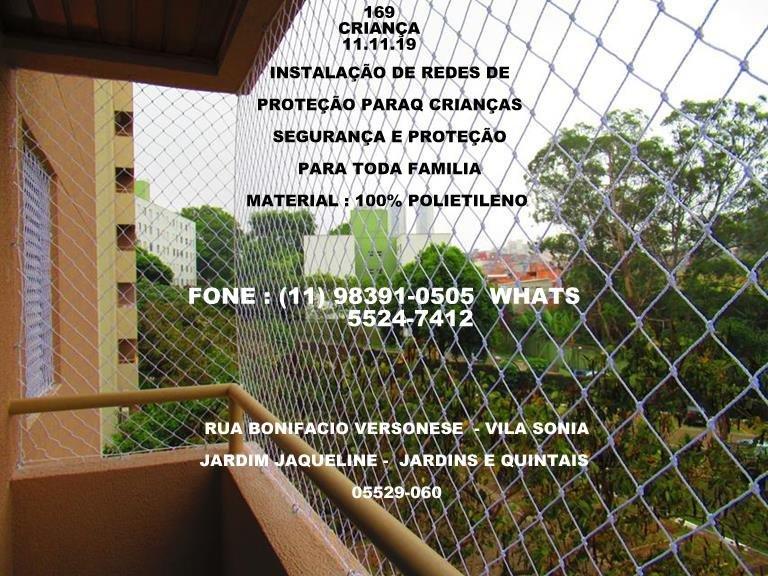 Redes de Proteção na Vila São José, Av. Senador Teotonio Vilela, (11) 98391-0505 whats
