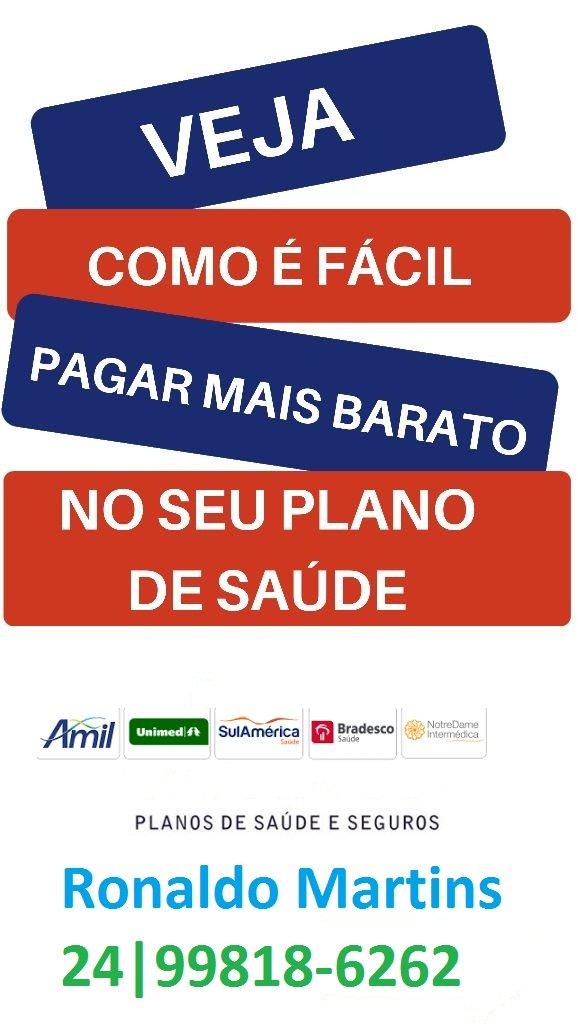 Qualicorp em Barra Mansa 24|99818-6262 Ronaldo Martins
